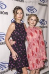 Aly Michalka and Rose McIver