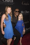 Eddie Murphy with McKenna Grace and Natalie Coughlin