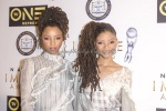 R&B Duo Chloe and Halle Bailey