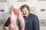 Pom Pom Kitty and Curtis Armstrong