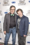 Robert Carradine and Curtis Armstrong
