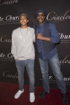 Arsenio Hall with Arsenio Jr (2)